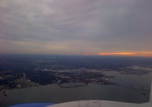 SWA heading home bWI